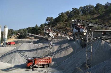 云南玉磨时产600-800吨砂石生产线