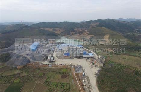 湖南时产500吨破碎制砂生产线