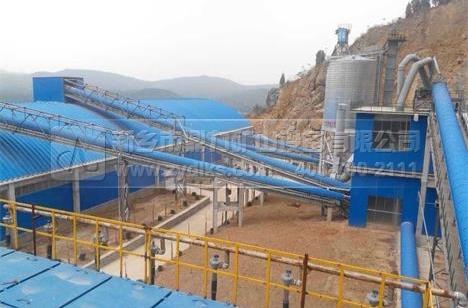 河南登封时产2000吨石料生产线