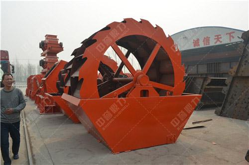 螺旋式洗砂机构造_洗砂机零部件组成_河南中誉鼎力